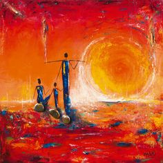 Soleil  Art Print  by Marso