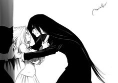 """""""My name is Integra Fairbrooks Wingate Hellsing. I am the head of this family! I would die before letting a vampire order me! I would die before giving up!"""" """"You truly are you're fathers daughter. My master"""""""