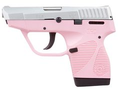 Taurus 738 TCP Stainless Steel Pink Polymer Frame 6rd +1 .380 ACP caliber