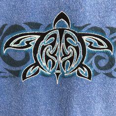 Blue #Honu San Diego T-Shirt S NWT Sea Turtle Blue Hawaii Dyed Crazy Shirts #CrazyShirts #TShirt #sandiego #seaturtle