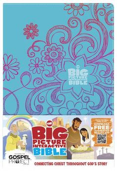 The Big Picture Interactive Bible for Kids, Doodles LeatherTouch: Connecting Christ Throughout God's Story (The Gospel Project) by B&H Editorial Staff
