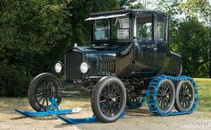 """1925 Ford Model T """"Snow Flyer"""" Coupe"""
