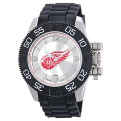 Men's NBA Game Time New York Knicks Watch and Wallet - Black, Detroit Red Wings