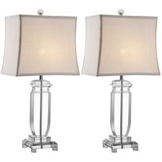 Shop for Safavieh Lighting 25-inch Olympia Crystal Table Lamps (Set of 2). Get free delivery at Overstock.com - Your Online Home Decor Shop! Get 5% in rewards with Club O!