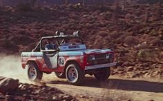 When Broncos ruled the dunes.... 1967 Baja 1000