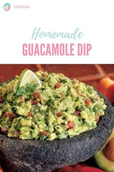 Mmm, make a whole bowl of my guacamole for around the price of a tiny container of Chipotle's. Best Guacamole Recipe, Guacamole Dip, Homemade Guacamole, Fresh Guacamole, Dip Recipes, Mexican Food Recipes, Chicken Recipes, Cooking Recipes, Easy Recipes
