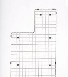 Ledge Sink - Single Bowl - Offset Drain Right - Create Good Sinks Single Bowl Kitchen Sink, Farmhouse Sink Kitchen, Ikea Kitchen, Basin Sink, Stainless Steel Sinks, Storage Spaces, Grid, Collection, Apron
