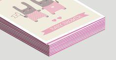 Invitation contrecollée tranche rose Invitation, Carte De Visite, Lush, Cards, Invitations, Reception Card