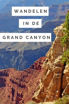 Tips for hiking in the Grand Canyon and how to avoid the crowds. Tips voor wandelen in de Grand Canyon en hoe u de drukte kunt vermijden. New Orleans, New York, Canada Travel, Travel Usa, Usa Roadtrip, Travel Guides, Travel Tips, Places To Travel, Travel Destinations