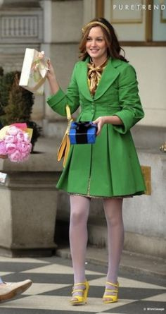 blair waldorf gossip girl leighton meester jacket