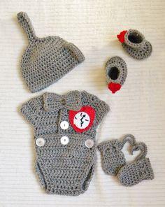 NEW Crochet Wizard of Oz Inspired boy/girl by OhSoVeryKnotty