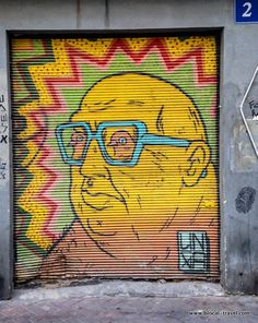 Broken Fingaz || Tel Aviv street art guide || Read my blogpost here: http://www.blocal-travel.com/street-art/tel-aviv-street-art-guide/ #streetart #israel #telaviv