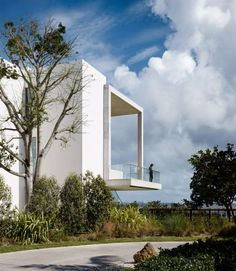 Colombian-Ecuadorian filmmaker Alejandro Landes has completed his first built project: a tropical-modernist mansion in Miami that is currently among the city's most expensive residential properties.