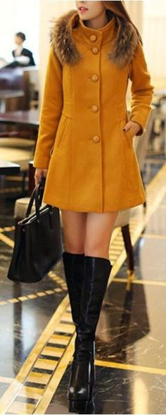 Just a pretty style   Latest fashion trends: Fall fashion   Stylish coat