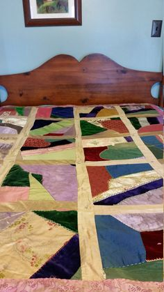 Check out this item in my Etsy shop https://www.etsy.com/listing/271901176/silk-crazy-quilt-throw-parlor-decor-lap