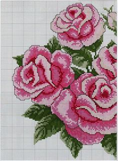 This Pin was discovered by Edn Cross Stitch Love, Beaded Cross Stitch, Cross Stitch Flowers, Cross Stitch Charts, Cross Stitch Embroidery, Modern Cross Stitch Patterns, Cross Stitch Designs, Flower Patterns, Beading Patterns