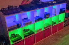 vintage video game entertainment center - Google Search