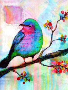 Songbird Print by Robin Mead