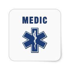 EMS ParaMedic Star of Life