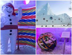 Canada-Quebec-City-Ice-Palace-Collage