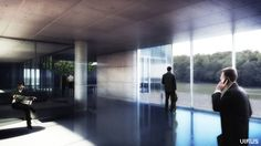 Architectural rendering Thesis Project facebook.com/virusarchitecture