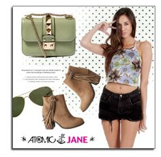 """""""Atomic Jane"""" by atomic-jane ❤ liked on Polyvore featuring mode, Smith Optics, maurices, Valentino, vintage en atomicjane"""