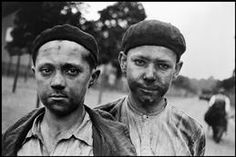 North of France. Young miners 1935.