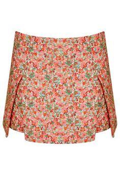 Ditsy Origami Skirt