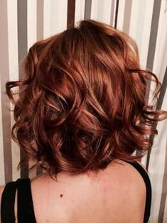 20 moderna y chic cortes de pelo corto red hair blonde highlightsred - Auburn Hair Color With Blonde Highlights