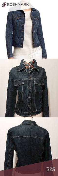 """✨ GAP Classic Denim Jacket Classic denim jacket. 67% Cotton 33% Poly Machine washable 42"""" chest 17"""" shoulder 24"""" sleeve length 22"""" overall length GAP Jackets & Coats Jean Jackets"""