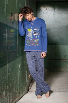 Insignia Pack 2 Hombre Liso Pijama Pantalones de Descanso Pantalones Su/éter Suave