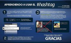Usos correctos e incorrectos del Hashtag