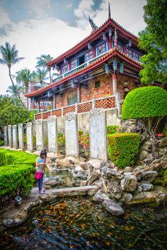 Chikan Fort, Tainan, Taiwan