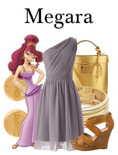"""Megara"" by megan-vanwinkle ❤ liked on Polyvore featuring Chanel, Mark Cross, Nanette Lepore, Seychelles and hercules"