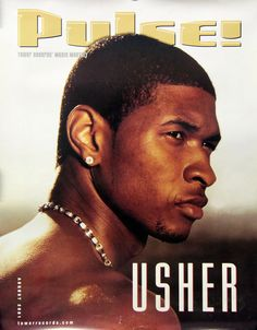 Usher 2001 Pulse Magazine Cover Promo Poster  Link to store: http://stores.ebay.com/Rock-On-Collectibles/Rap-Hip-Hop-Posters-/_i.html?_fsub=10102107&_sid=70220124&_trksid=p4634.c0.m322