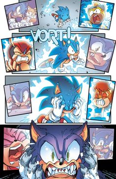 Sonic the Werehog, from Sonic the Hedgehog 264