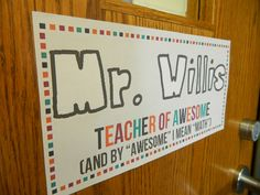 from two live colorfully blog- definitley stealing this for Mark's middle school math classroom