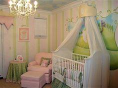 I so want a fairy tale nursery, someday. Maybe.