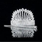 Vintage couronne de mariée bijoux de mariage