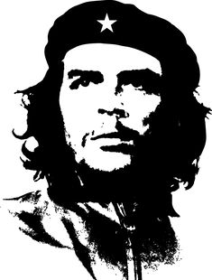 practice temporary: Free stencils for everyone! Portrait Vector, Portrait Art, Che Guevara Tattoo, Che Quevara, Che Guevara Images, Image Joker, Tupac Art, Tableau Pop Art, Gravure Laser