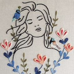 Getting to Know Brazilian Embroidery - Embroidery Patterns Iron On Embroidery, Simple Embroidery, Embroidery Transfers, Crewel Embroidery, Embroidery Hoop Art, Hand Embroidery Patterns, Ribbon Embroidery, Cross Stitch Embroidery, Chinese Embroidery