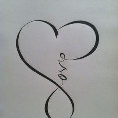 Love Infinity Sign
