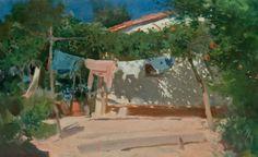 Cecilio Pla y Gallardo Impressionist Artists, Mount Rushmore, Spanish, Patio, Landscape, World, Outdoor Decor, Travel, Master Art