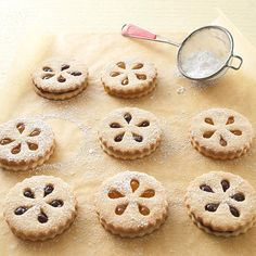 Ischl tarts -- delicate and delicious butter cookies -- hail all the way from Austria. Their intricate designs and fruity fillings make them the prettiest cookie on the block.