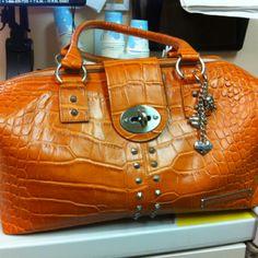 Coworker's Harley Davidson purse.