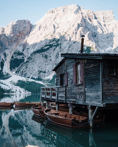 Lago di Braies, one of the most beautiful mountain lakes in the heart of the Dolomites. Hike around the lake to explore more, rent a boat and notice the magical water reflections. A spectacular setting. House Season 6, Spencer House, House Cleaning Checklist, Paint Your House, Nature Photos, Clean House, House Design, Stock Photos, Instagram