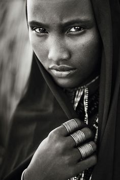 Africa | 'From Inside' Portrait of an Arbore woman. Ethiopia | © Laurent Auxietre