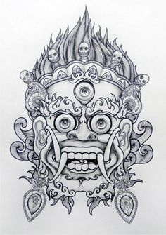 chinese lion drawing - Google Search