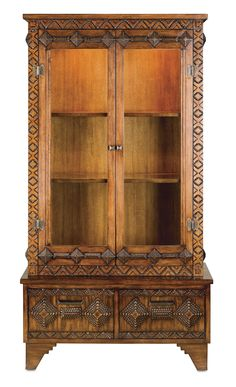 Tramp Art Cabinet by Currey & Company