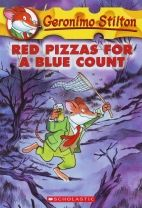 """Sabrina at C. D. Farquharson Junior Public School recommends Red Pizzas for a Blue Count by Geronimo Stilton: """"I enjoy this book because it is so hilarious. It is also a chapter book (yay!). Young readers HAVE to read this WAY AWESOME book!"""""""